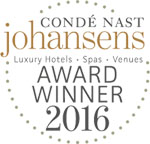 2016 - Condé Nast Johansens: Gewinner der Awards for Excellence Americas