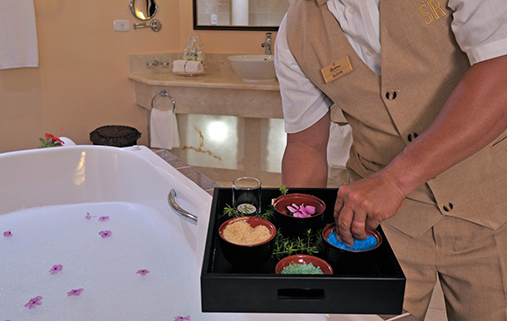 The In Room Spa experience at Meliá Cohiba
