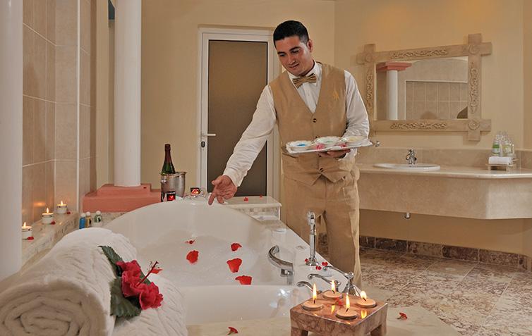 Spa hotels in Cuba - Spa Services: In-Room SPA Experience