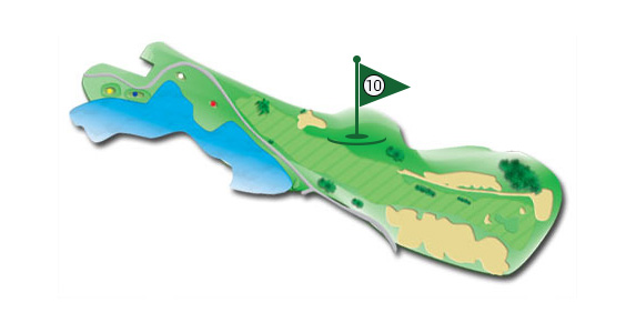 Details of the hole 10