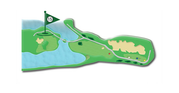 Details of the hole 15