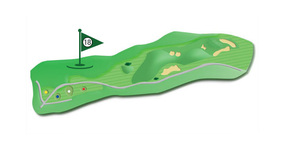 Details of the hole 18