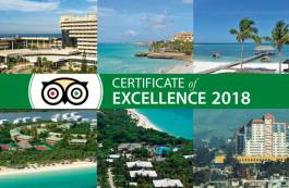 News on Hotels in Cuba - Eleven Meliá Cuba hotels awarded TripAdvisor Certificate of Excellence 2018