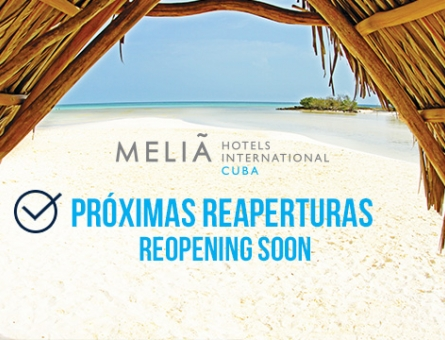 Meliá Hotels International Cuba announces the reopening of hotels affected by Hurricane Irma