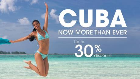 Experience Cuba more than ever before. Up to 30% OFF
