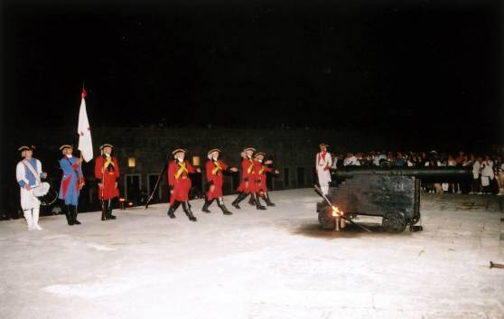 The Cannon Blast Ceremony