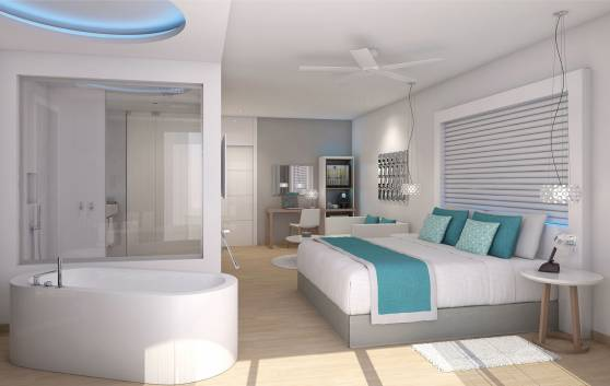 Paradisus Los Cayos - FAMILY CONCIERGE JUNIOR SUITE GARDEN SWIM-UP