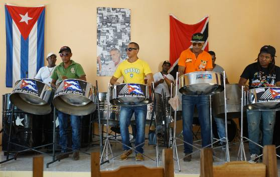 Santiago de Cuba The Steel Band in El Cobre