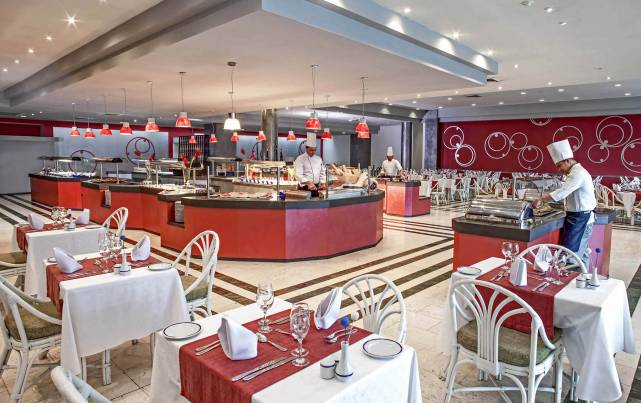 Tryp Habana Libre - Restaurante Buffet Las Antillas - Restaurants