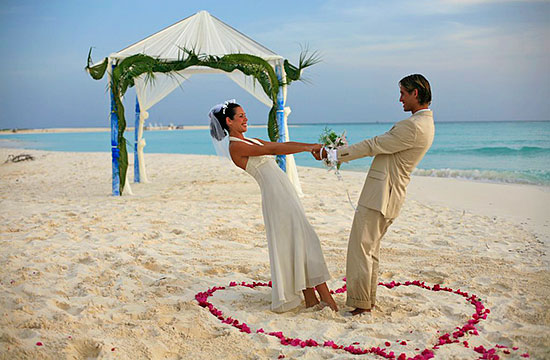 Wedding Honeymoon Beach