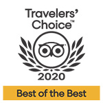 2020 - Tripadvisor: Travelers' Choice Best of the Best
