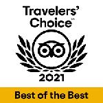 2021 - Tripadvisor: Travelers' Choice Best of the Best