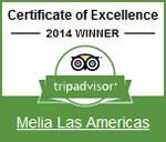 2014 - TripAdvisor: Certificat d'Excellence