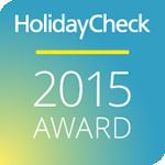 2015 - HolidayCheck: HolidayCheck Award 2015