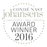 2016 - Condé Nast Johansens: Luxury Spa Awards for Excellence