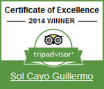 2014 - TripAdvisor: Сертификат Безупречного сервиса