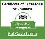 2014 - Tripadvisor: Certificado de Excelencia