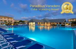News on Hotels in Cuba - Paradisus Varadero, winner at the World Travel Awards 2019