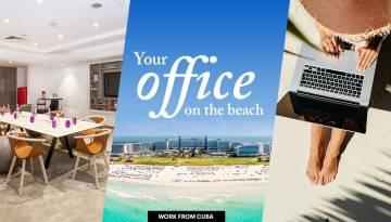 Hotéis Meliá em Cuba para trabalhar remotamente