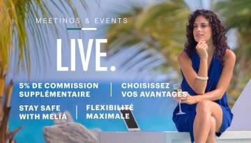 Promotions MICE - Meliá Hotels International Cuba