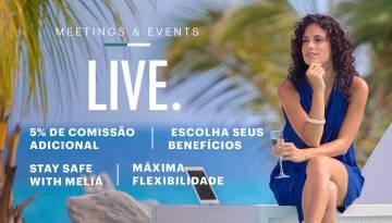 Promoções MICE - Meliá Hotels International Cuba