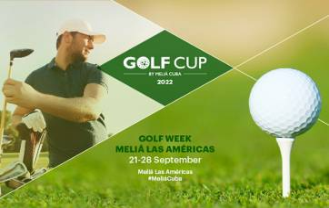 Semana de golfe de setembro - Eventos de Golfe Meliá Cuba