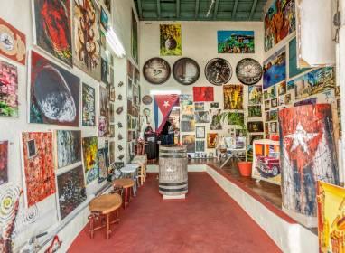 Atractivos en Camagüey: Galerie San Juan de Dios