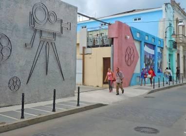 Atractivos en Camagüey: La Calle de los Cines
