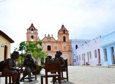 Atractivos en Camagüey: Plaza del Carmen