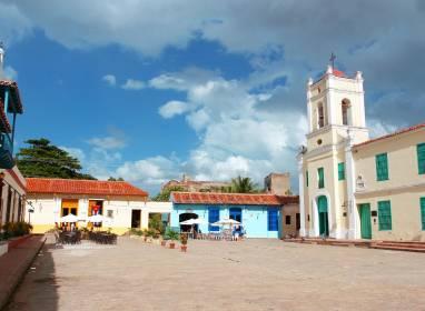 Atractivos en Camaguey: Plaza San Juan de Dios