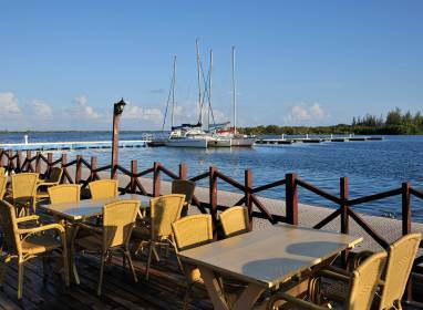 Atractivos en Cayo Largo: Marina Marlin and water sport centres