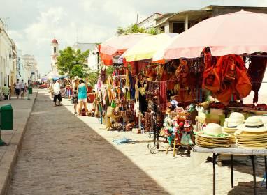 Atractivos en Cienfuegos: Boulevard San Fernando