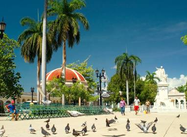 Atractivos en Cienfuegos: Park José Martí