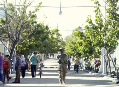 Atractivos en Cienfuegos: Paseo del Prado