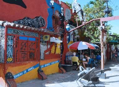 Atractivos en Havanna: Callejón de Hammel