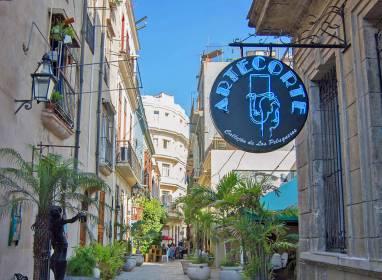 Atractivos en Havanna: Callejón de los Peluqueros