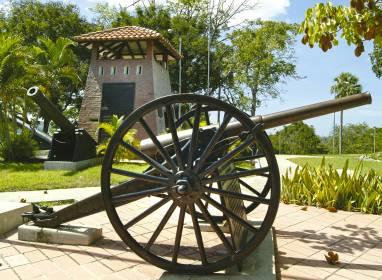 Atractivos en Santiago de Cuba: Der Berg von San Juan