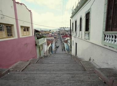 Atractivos en Santiago de Cuba: Treppe Padre Pico