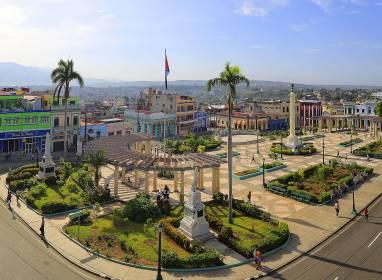 Atractivos en Santiago de Cuba: Plaza de Marte