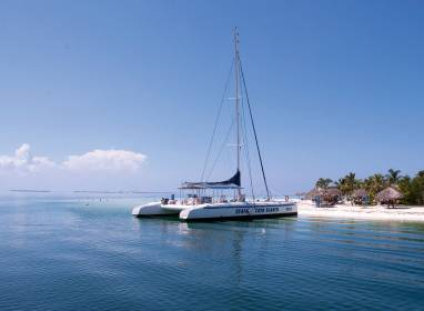 Atractivos en Варадеро: Cayo Blanco – Catamarán