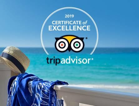 15 Meliá Cuba hotels receive the 2019 TripAdvisor Certificate of Excellence