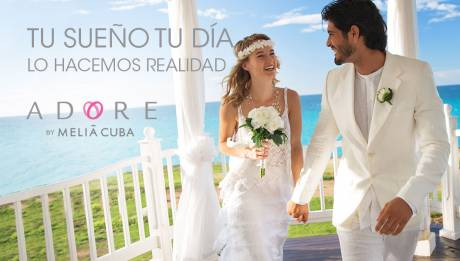 Especial de bodas – Programa de bodas y lunas de miel Adore by Meliá Cuba