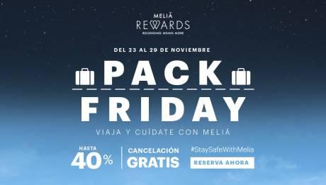 Black Friday en hoteles Meliá Cuba
