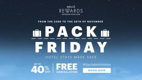 Спецпредложения Black Friday в отелях Meliá Cuba