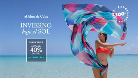 El invierno más cálido con Super Sales de Meliá Cuba - Hasta 40% dto.