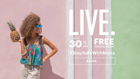 Meliá Cuba hotels Special offer - Up to 30 % discount + Free cancellation