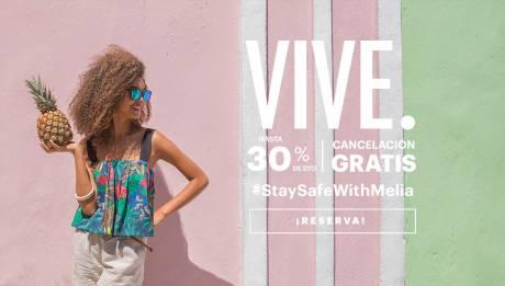 Oferta especial hoteles Meliá Cuba - Hasta 30% dto. + Cancelación Gratis