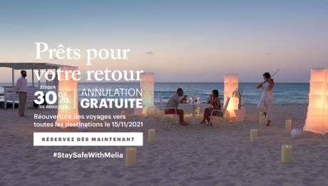 Offre spéciale pour les hôtels Meliá Cuba - Jusqu'à 30% de remise + Annulation gratuite
