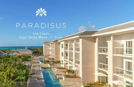 The luxury hotel Paradisus Los Cayos opens