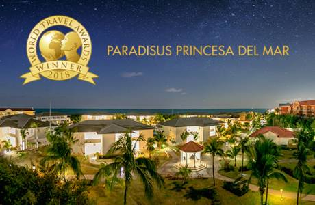 Paradisus Princesa del Mar galardonado como Cuba´s Leading Resort